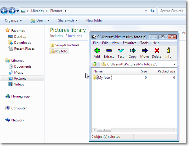 7-Zip - freeware archiving tool  How to open zip, rar and 7z archives