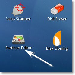 Partition Editor link