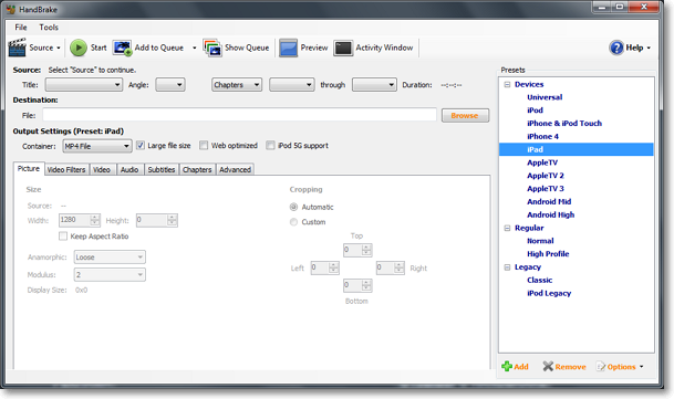 Telecharger Handbrake Ipad Download
