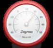Degrees — программа для отображения текущей погоды в статусной строке. Погода на Mас OS X.